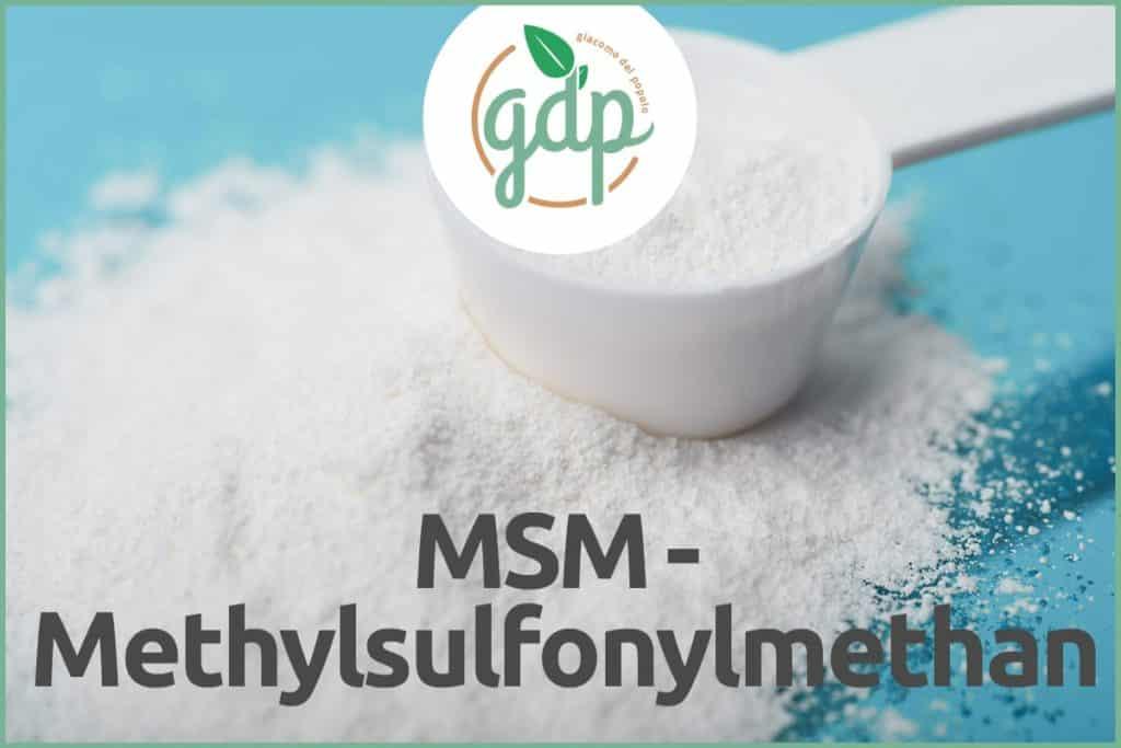 MSM - Méthylsulfonylmethane