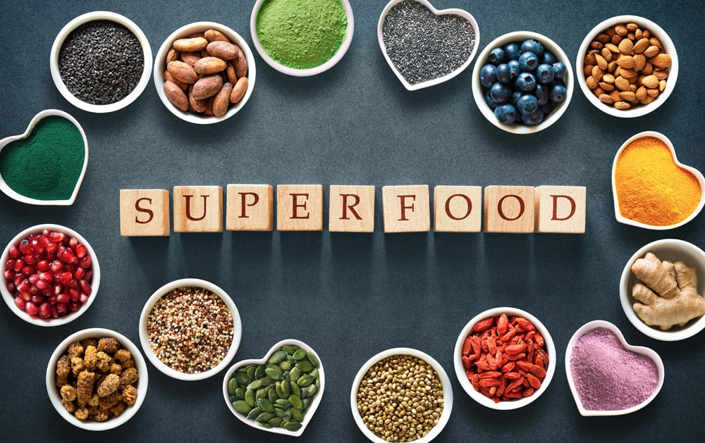 nahrungsergänzungsmittel superfoods