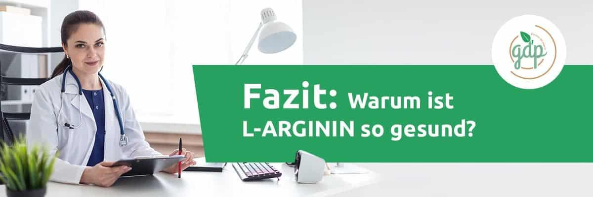 L ARGININ 06 Fazit