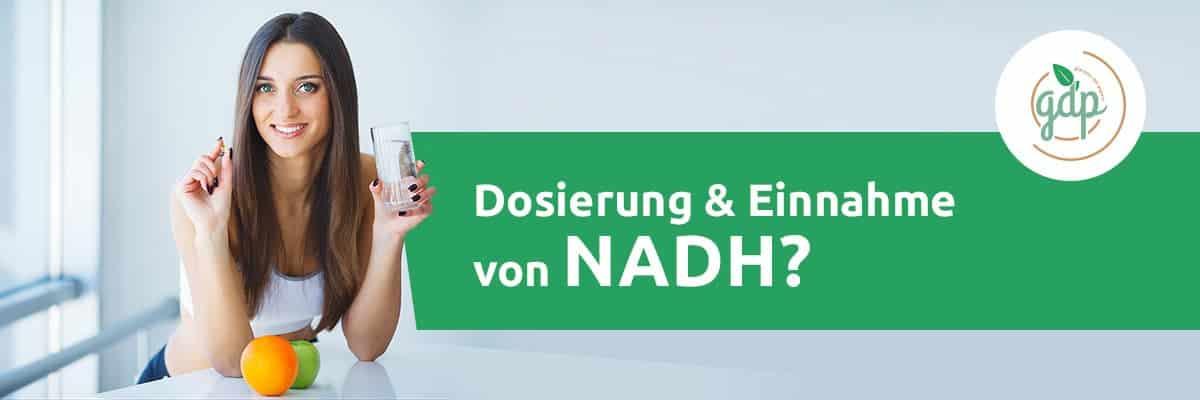 NADH 05 Einnahme