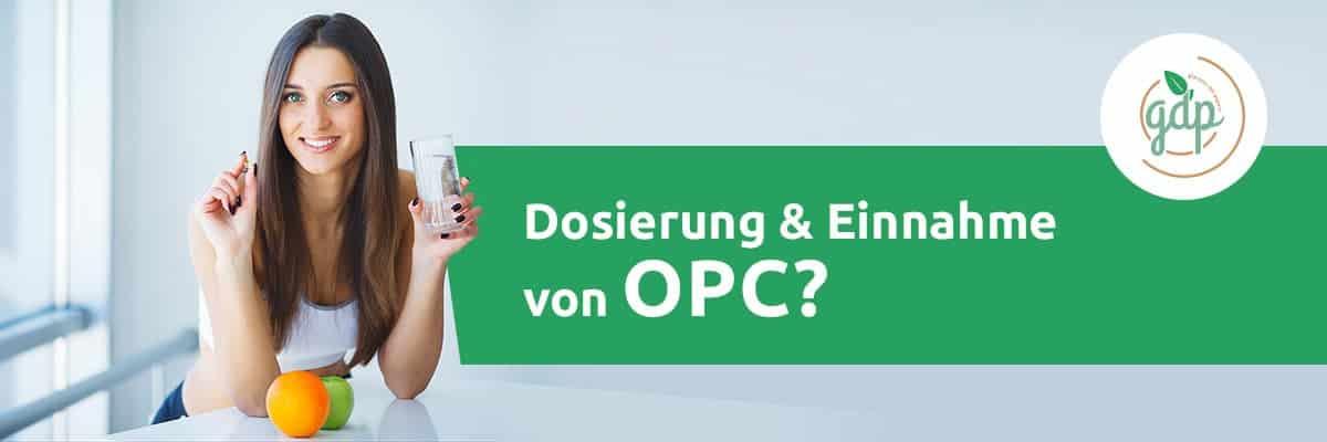 OPC 05 Einnahme
