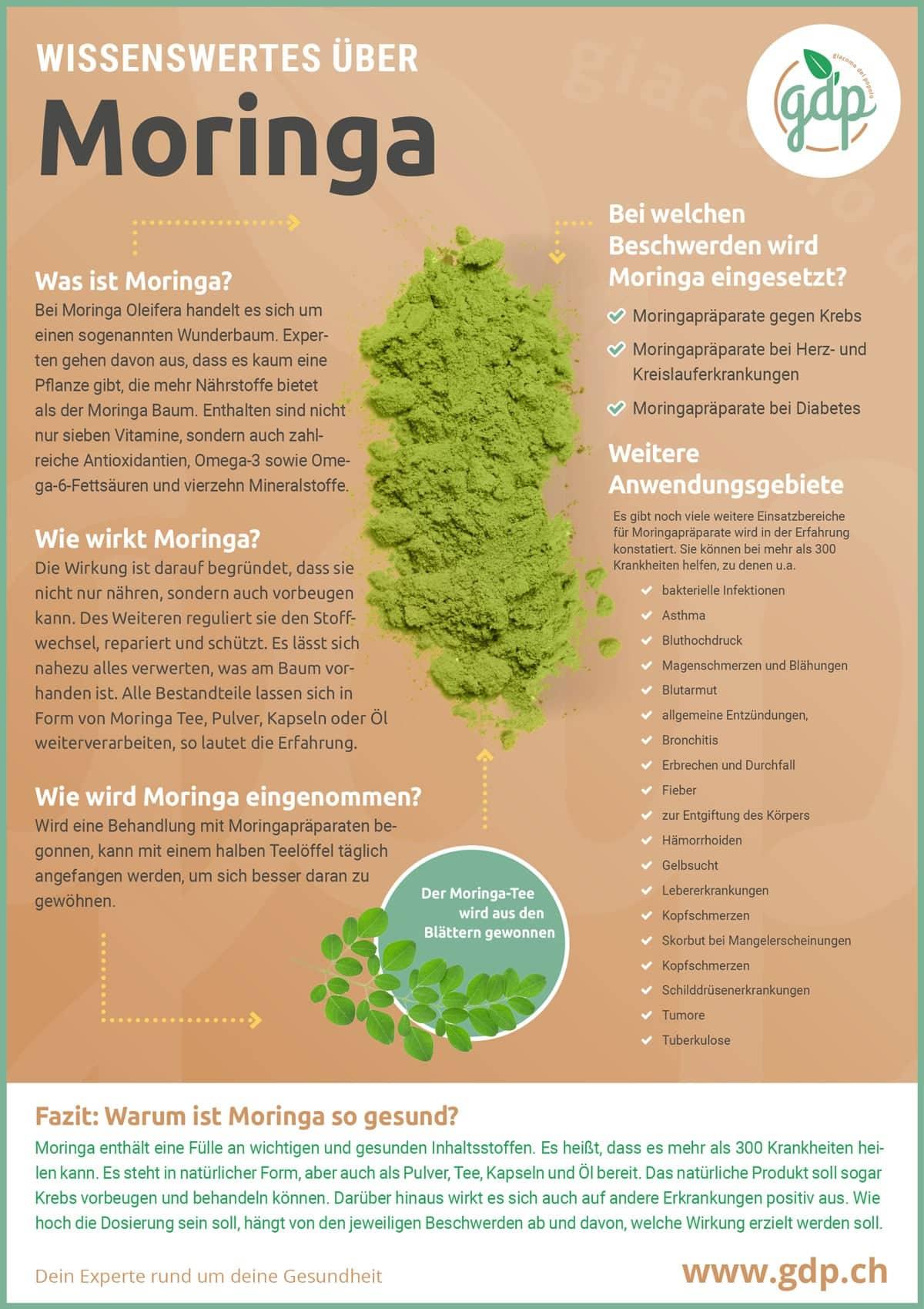 Moringa Infografik