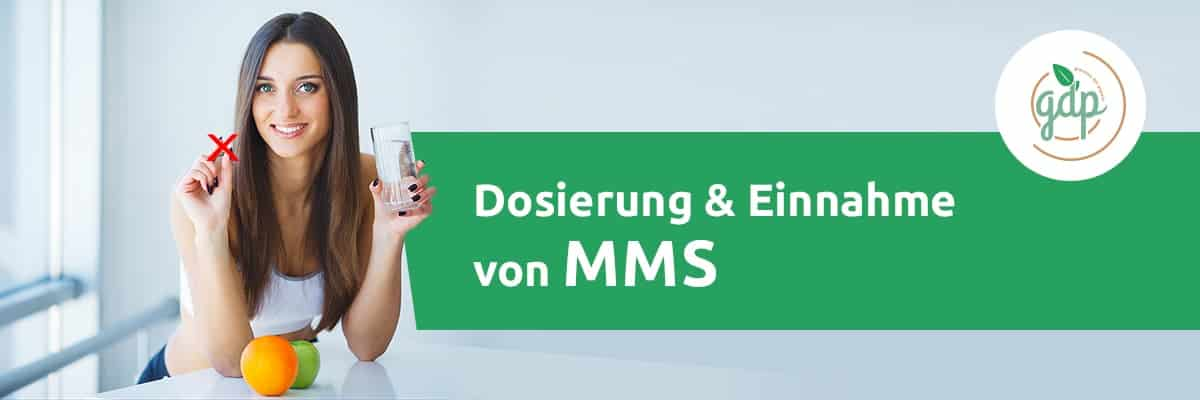 Dosierung und Einnahme MMS