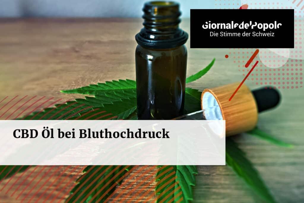 CBD Öl bei Bluthochdruck