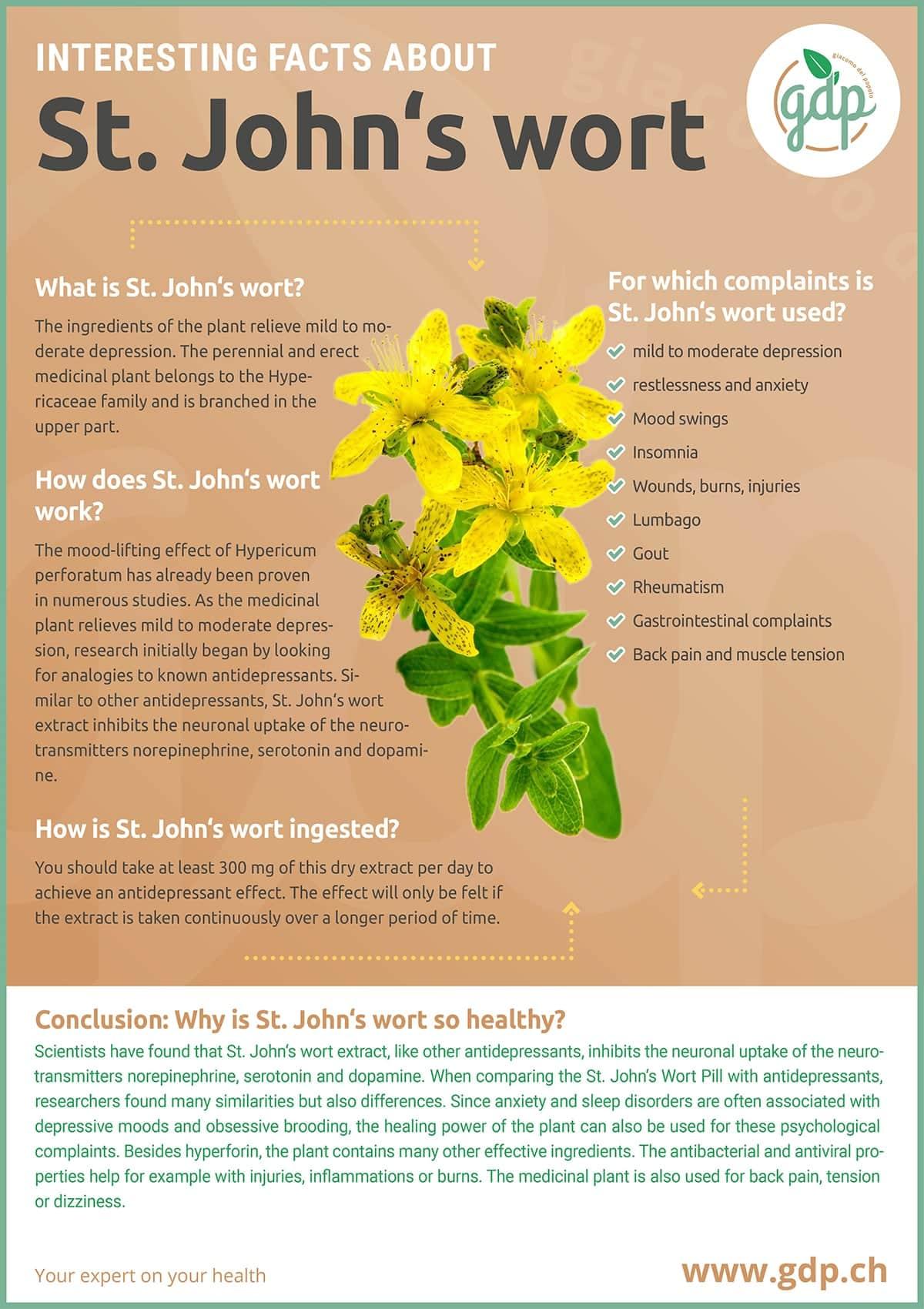 gdp infografic St. Johns wort