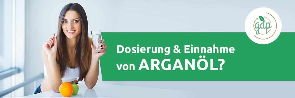 Dosierung und Einnahme Arganöl