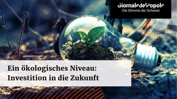 Ein umweltwissenschaftliches Niveau Eine Investition in die Zukunft