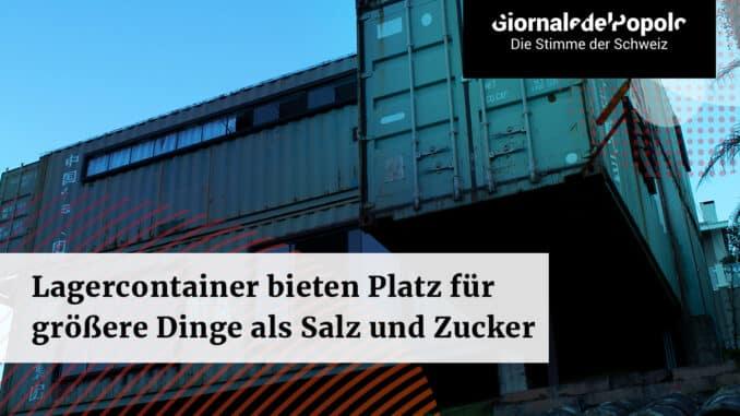 Lagercontainer bieten Platz für grössere Dinge als Salz und Zucker