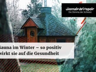 Sauna im Winter – so positiv wirkt sie sich auf die Gesundheit aus